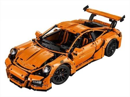 Porsche 911 Rs Gt3 Lego Technic 6