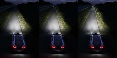Ya circula por España el primer BMW i8 laserlight