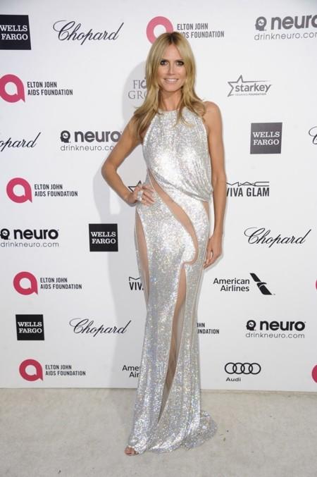 Heidi Klum de Versace