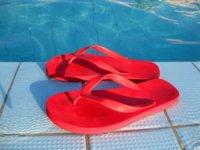Los riesgos de entrenar con chanclas como calzado
