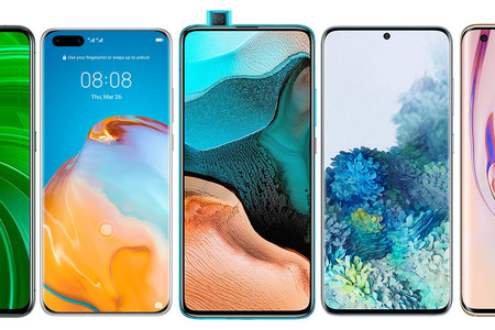 POCO F2 Pro, comparativa: así queda frente al Galaxy S20+, el Xiaomi Mi 10 Pro, el Realme X50 Pro y resto de gama alta