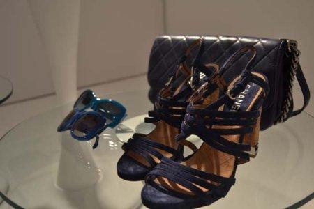 Azul Chanel colección Primavera-Verano 2012