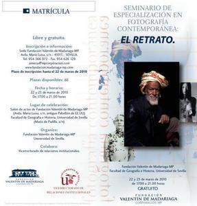 Seminario gratuito de retrato en Sevilla