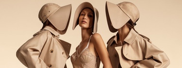 Bella Hadid, Gigi Hadid and Kendall Jenner star in the campaign Burberry Spring-Summer 2020