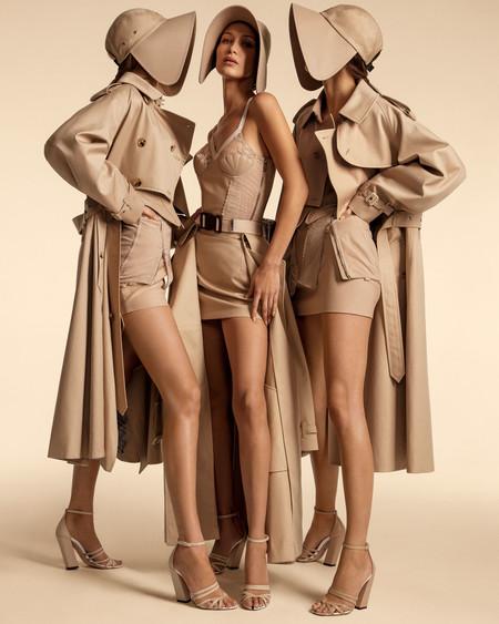 Bella Hadid, Gigi Hadid y Kendall Jenner protagonizan la campaña de Burberry Primavera-Verano 2020