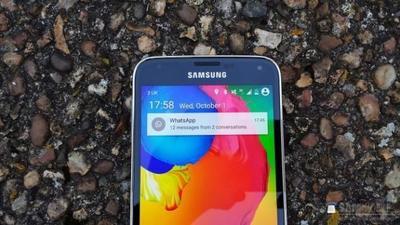 Un filtración nos muestra cómo luciría Android L en el Galaxy S5