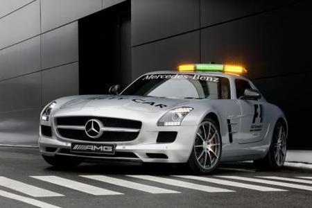 Mercedes SLS AMG. El nuevo Safety Car de la Fórmula 1