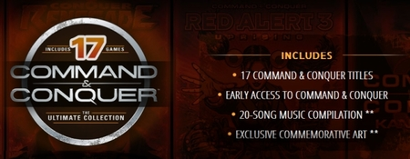 EA presenta la colección definitiva de 'Command & Conquer'