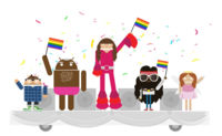 Androidify te anima a participar en su desfile mundial del Orgullo Gay online el 27 y 28 de junio