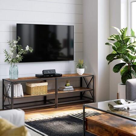 5 Mesas de televisión bonitas por menos de 100 euros (y otras 5 un poco más caras, pero que son ideales)