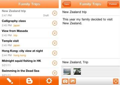Google lanza la aplicación nativa de Blogger para iOS y una interfaz web móvil para Google Music