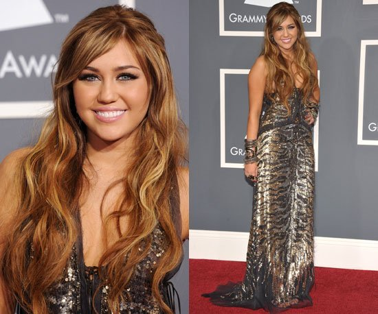miley cyrus grammy 2011