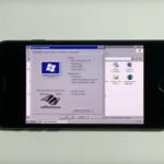 Imagen de la Semana: Este iPhone 7 funciona con Windows XP, pero no sustituirá a tu PC