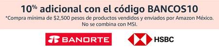 Promociones bancarias durante Black Friday en Amazon México, tarjetas de crédito y débito