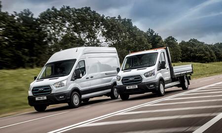 La Ford Transit eléctrica ya rueda por Europa entregando mercancías antes de su desembarco en 2022