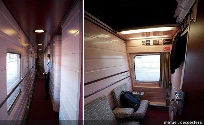 Hemos visto las habitaciones del elipsos trenhotel for Elipsos trenhotel
