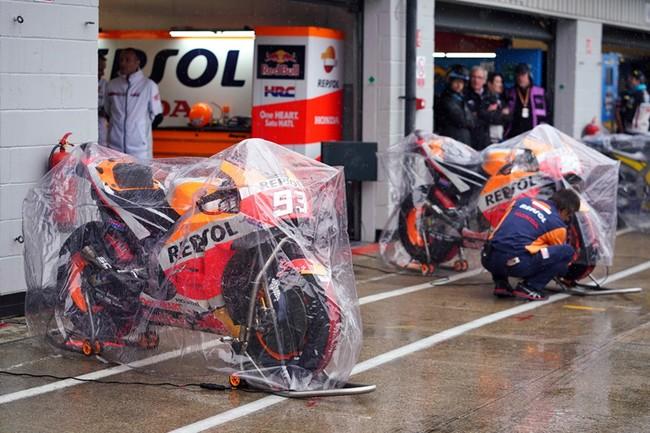 Tras el desastre de Silverstone, estos son los cinco precedentes de cancelación en la era moderna de MotoGP