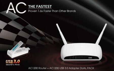 Edimax presenta un router 802.11ac acompañado de un adaptador USB 3.0