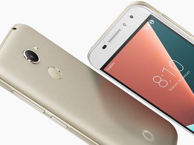 Vodafone Smart N8, la nueva generación llega con Android 7.0 y sensor de huella a la gama de entrada