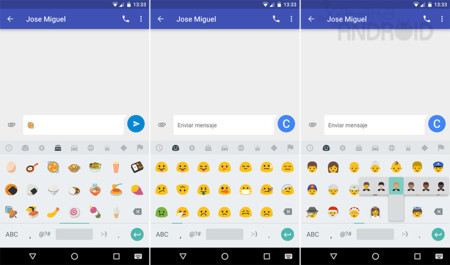N Emojis Android