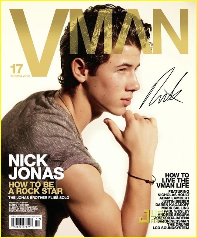 Foto de Nick Jonas en la revista VMan (2/6)