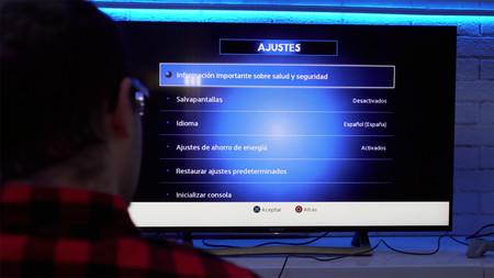 Menu Ajustes Playstation Classic