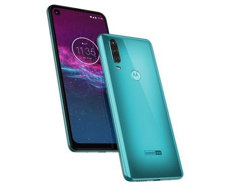 Motorola One Action Oficial Portada