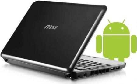 Ultraportátil MSI con Android quizás en Computex