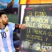 Restaurante de Leo Messi ayuda a personas en situación de calle