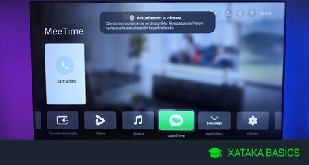 Cómo usar MeeTime para hacer videollamadas en el televisor Huawei Vision S