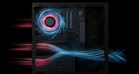 Huawei Matestation S Ventilacion