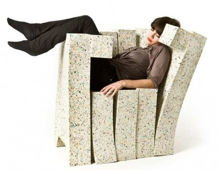Un sofá blandito y deformable