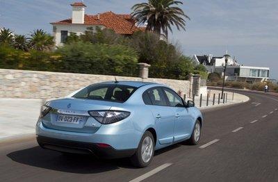 Precios del alquiler de las baterías del Renault Fluence Z.E.