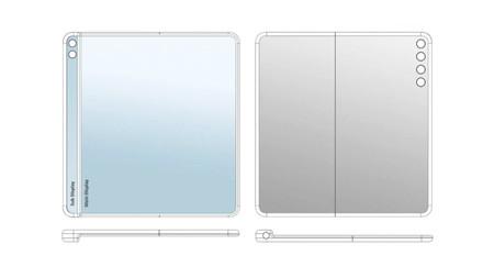 Huawei patenta un móvil plegable con pantalla secundaria lateral y compatibilidad con lápiz óptico
