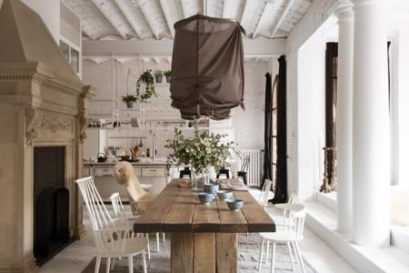Para morir de amor: una fantástica casa rehabilitada en el Eixample barcelonés