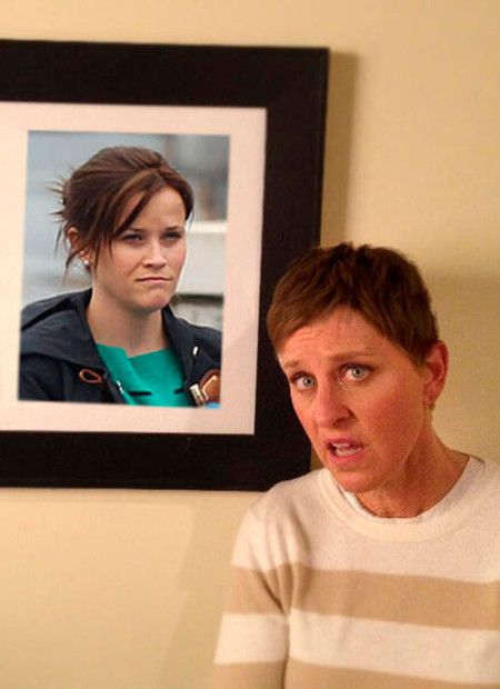 Si Reese Witherspoon se tiñe de castaño... ¡Ellen DeGeneres también!