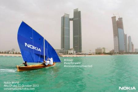 Nokia confirma evento de presentación en Abu Dhabi el 22 de Octubre