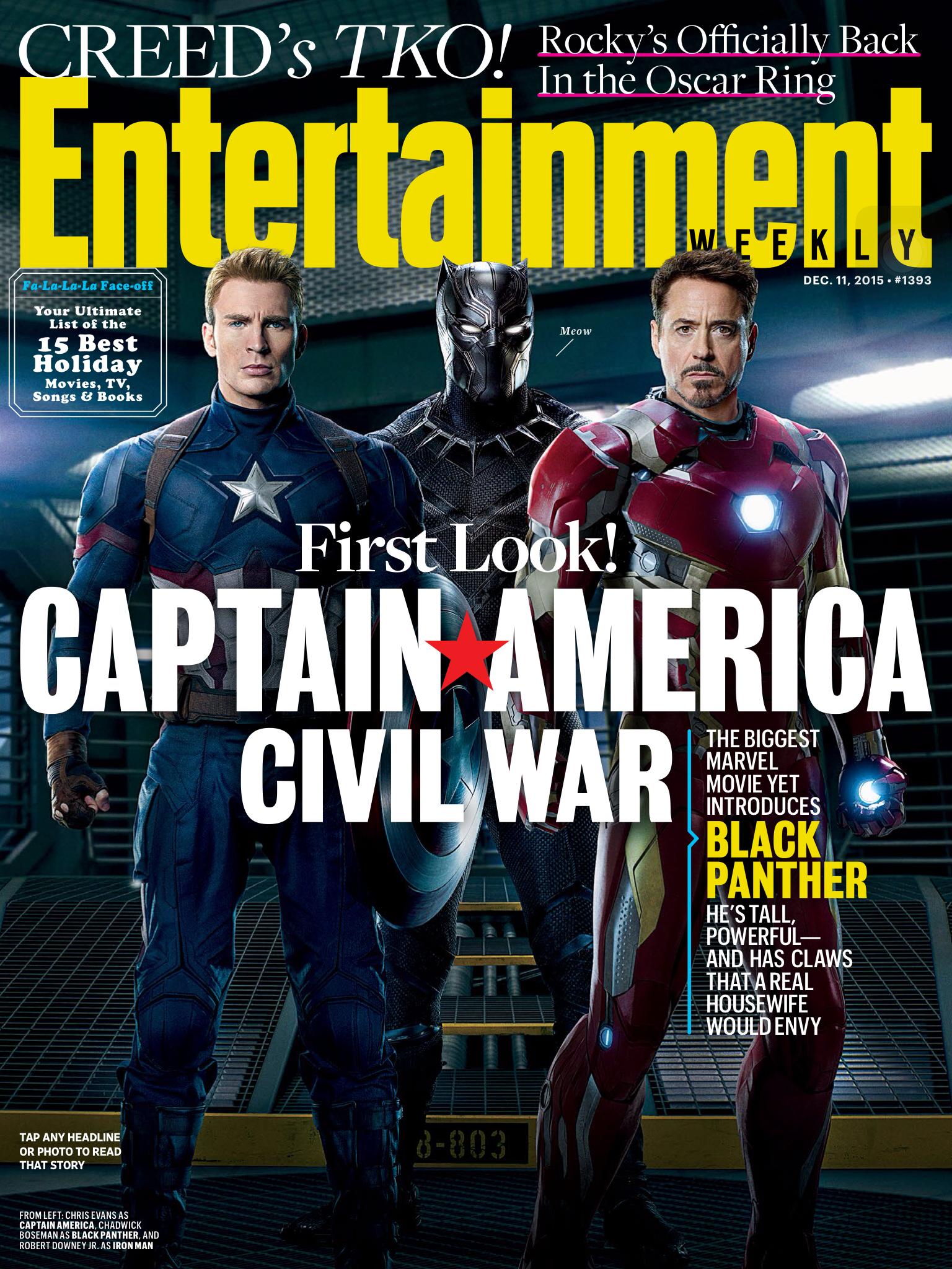 Foto de 'Capitán América: Civil War', nuevas imágenes oficiales (1/8)