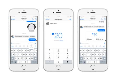 Facebook Messenger no sólo servirá para comunicarnos sino también para enviar y recibir dinero