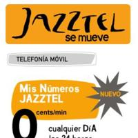 0 céntimos/minuto entre Jazztel Móvil con un nuevo módulo de ahorro