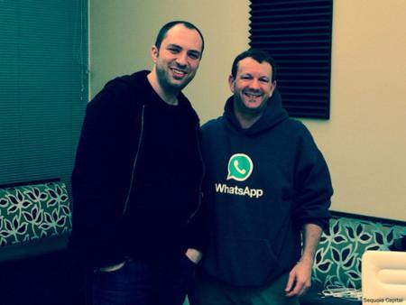 Jan Koum y Brian Acton de Whatspp