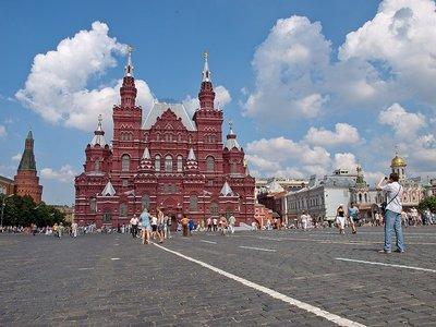 El Museo Estatal de Historia de Moscú