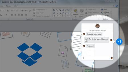 Dropbox permitirá la edición colaborativa de documentos con Microsoft Office