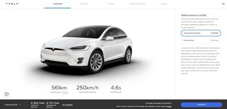 Tesla Model X Nueva Autonomia