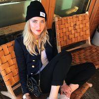 Clonados y pillados: las zapatillas Saint Laurent con firma Chiara Ferragni