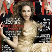 Por fin la portada de Sarah Jessica Parker en Vogue