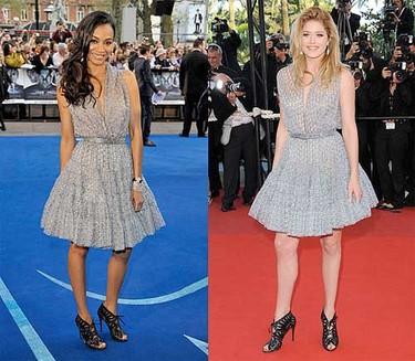 Vestido de Azzedine Alaia:¿Doutzen o Zoe?