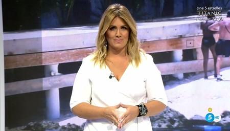 Carlota Corredera la lía: tras un positivo en coronavirus de tu entorno hay que tele trabajar, no trabajar en la tele