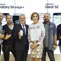Samsung Galaxy S6 edge+ y Samsung Gear S2 se fusionan en MBFW Madrid con el mundo de la moda