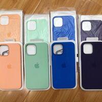 Los nuevos colores de las fundas para los iPhone 12 aparecen en una imagen en Twitter